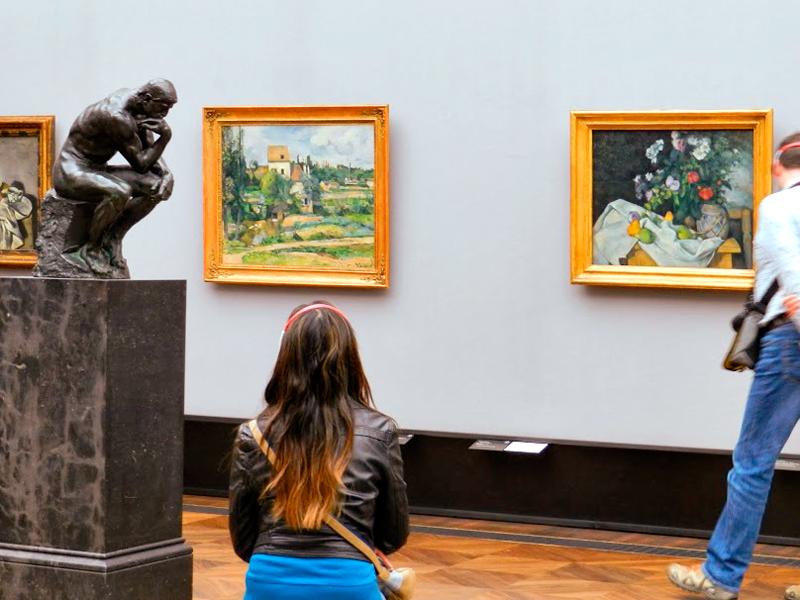 Arte francesa na Alte Nationalgalerie em Berlim