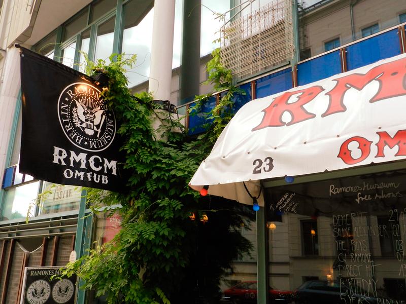 Ramones Museum em Berlim