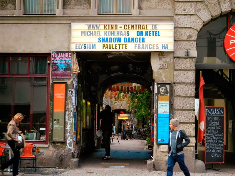 Entrada para o Anne Frank Museum de Berlim