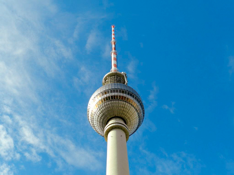Fernsehturm em Berlim na Alemanha