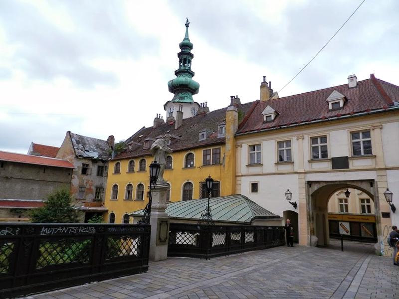 Cidade de Bratislava na Eslováquia