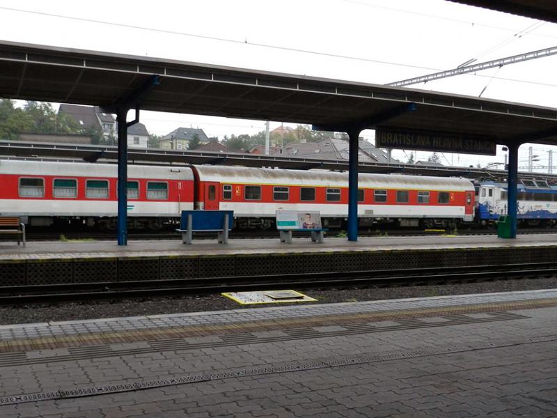 estação de trem em bratislava na eslováquia