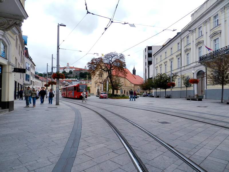 Rua de Bratislava, Eslováquia