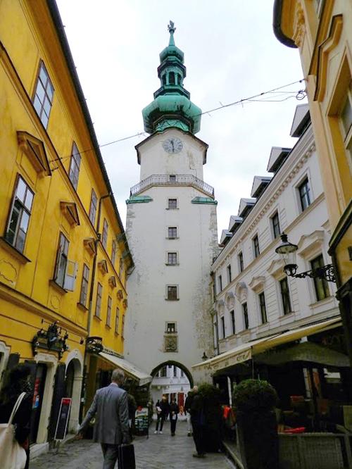Michalská Brána em Bratislava
