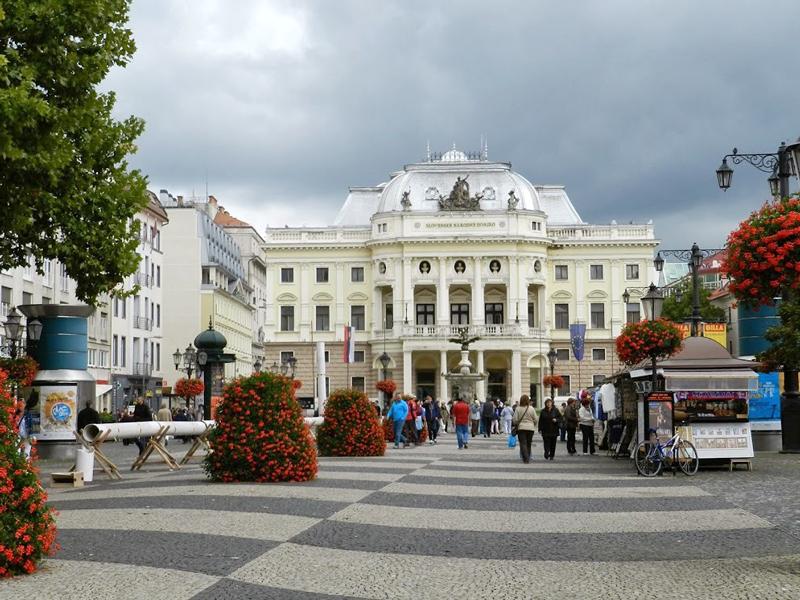centro de bratislava na eslováquia