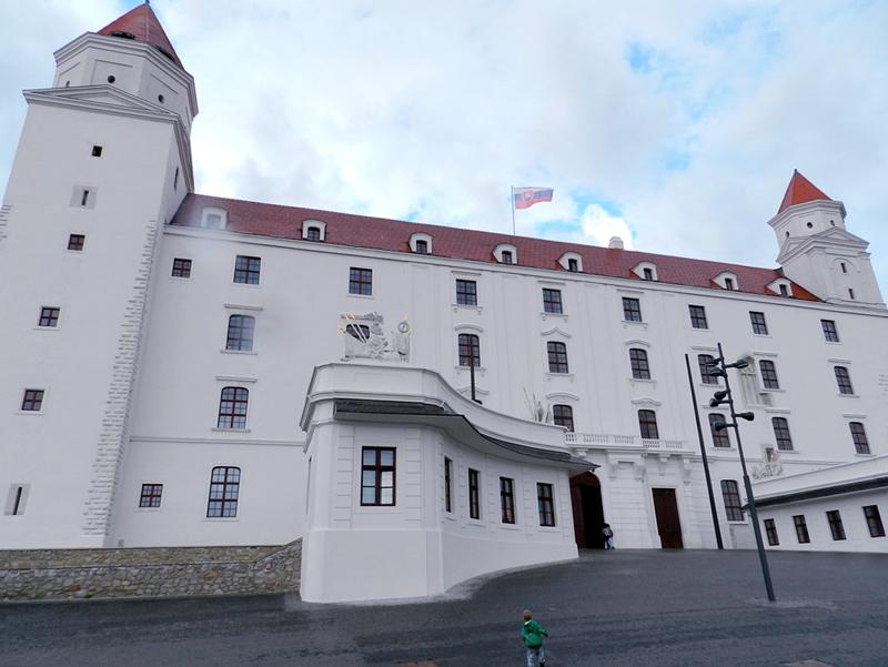 Entrada do Bratislavský hrad