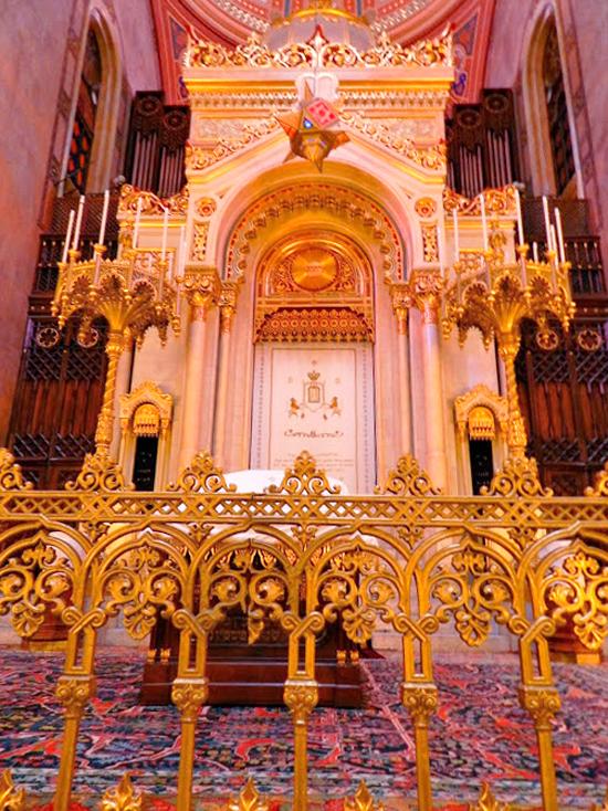 Detalhe da Dohány Utcai Zsinagóga