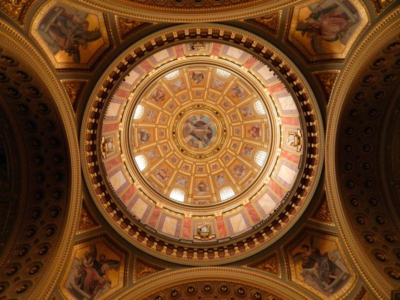 detalhes da Szent István Bazilika viagem a BUDAPESTE