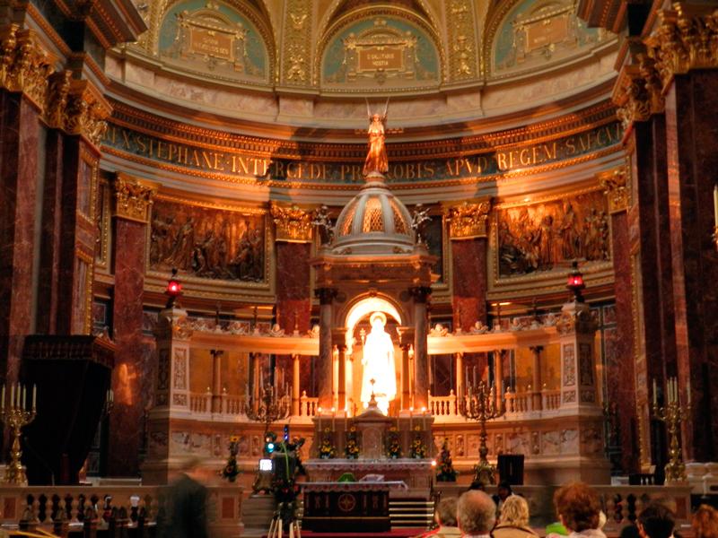 detalhes do Szent István Bazilika