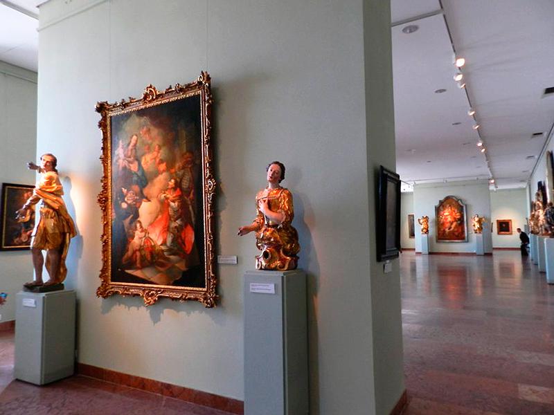 Magyar Nemzeti Galéria ou Galeria Nacional Húngara em Budapeste