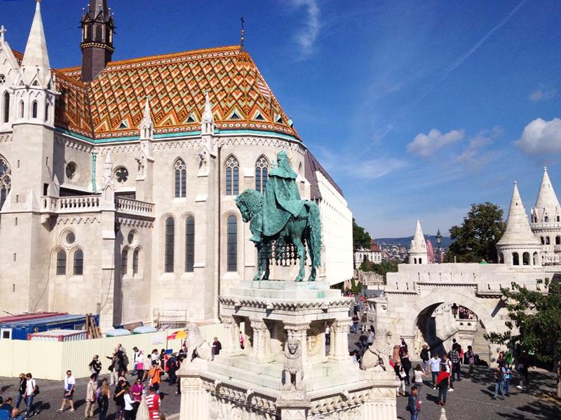 Mátyás Templom em Budapeste na Hungria