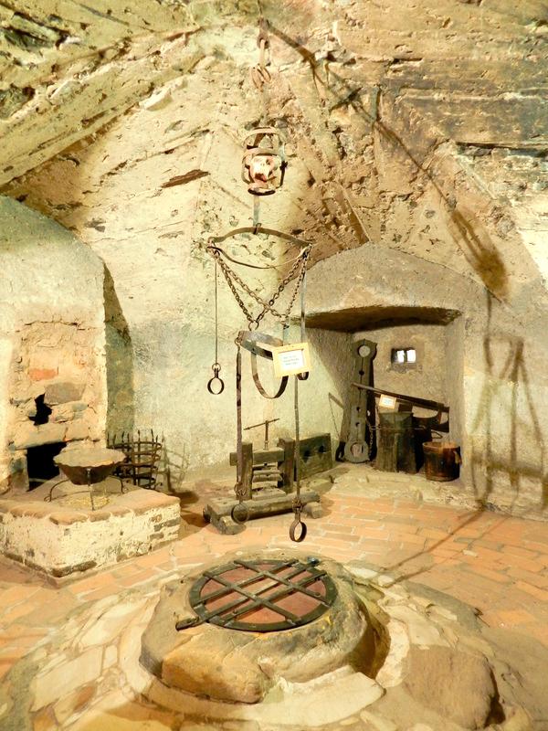 Daliborka no castelo de praga viagem a praga na tchéquia