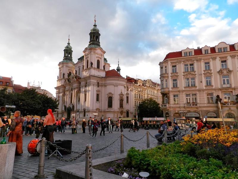 Detalhes da Staroměstské Náměstí em Praga