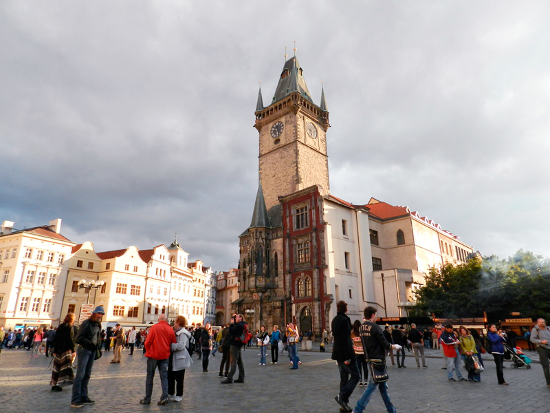 Staroměstská Radnice Viagem a praga na tchéquia