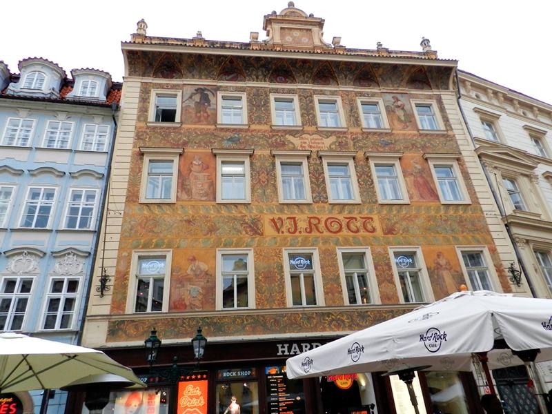 P´redio Rottův dům (ou U Rotta) em Praga