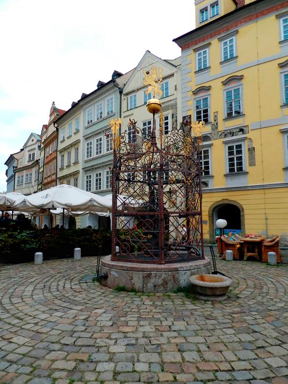 Kašna em Praga