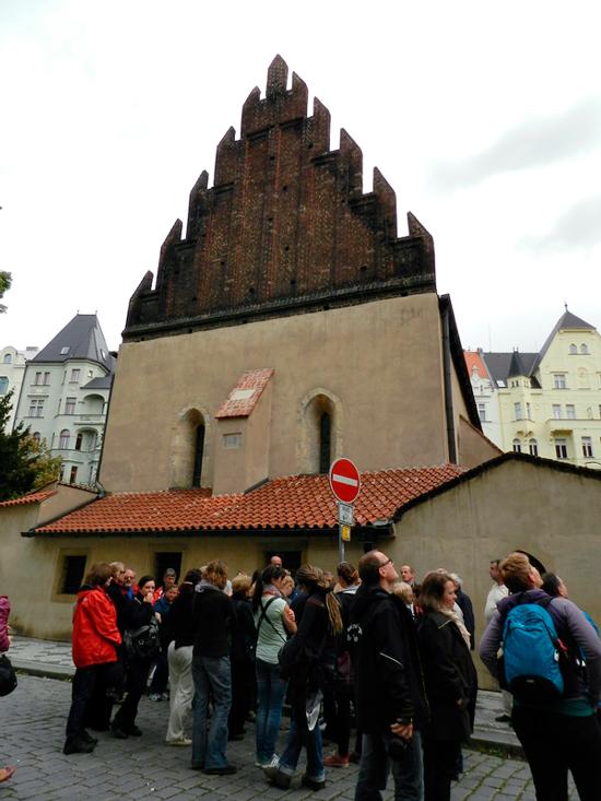 Maiselova synagoga na Josefov em Praga