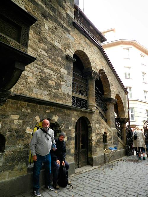 ruela da Josefov em Praga