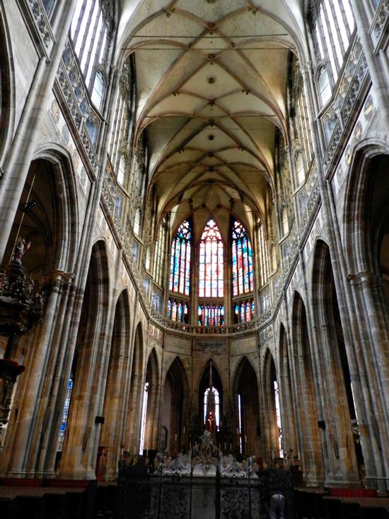 Katedrála svatého Víta do Castelo de Praga