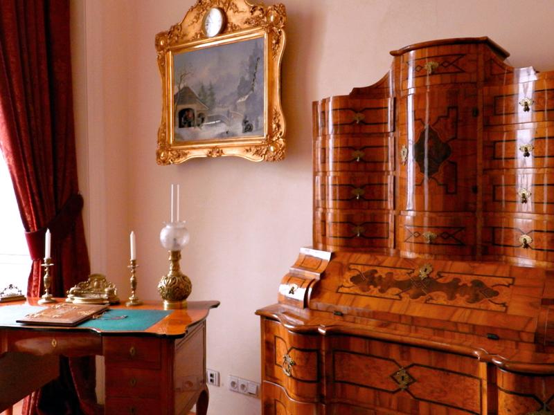 detalhes do Rožmberský Palác viagem a praga na tchéquia