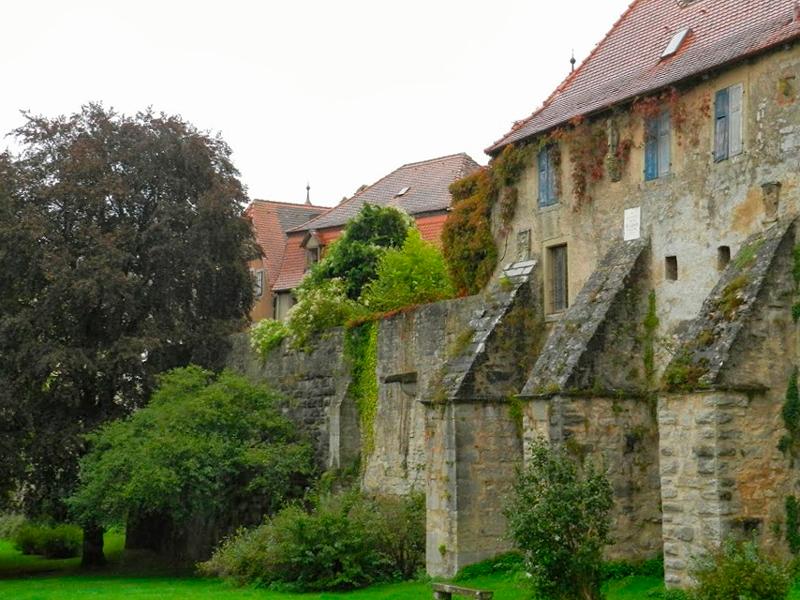 Muros de Rothenburg Ob Der Tauber