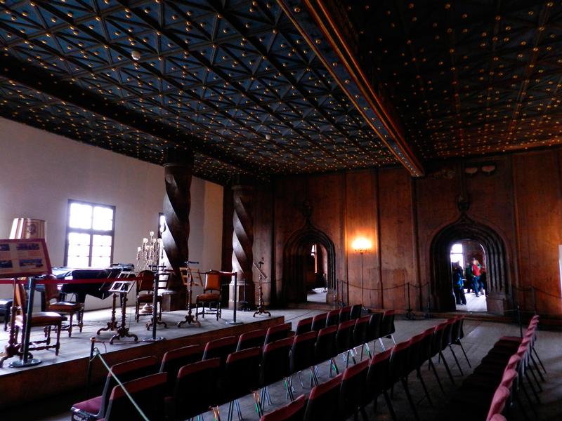 Sala de recitais do Castelo de Salzburg