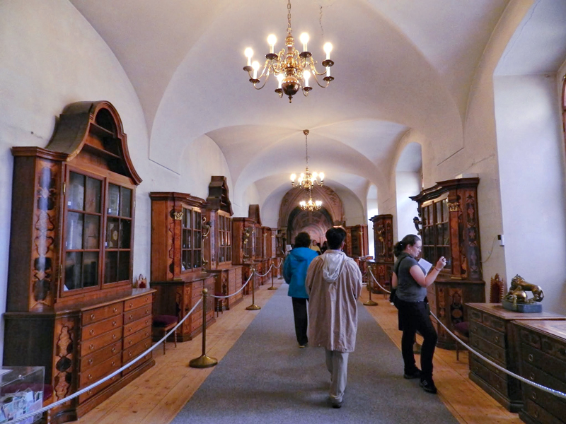 Strahovský klášter viagem a praga na tchéquia