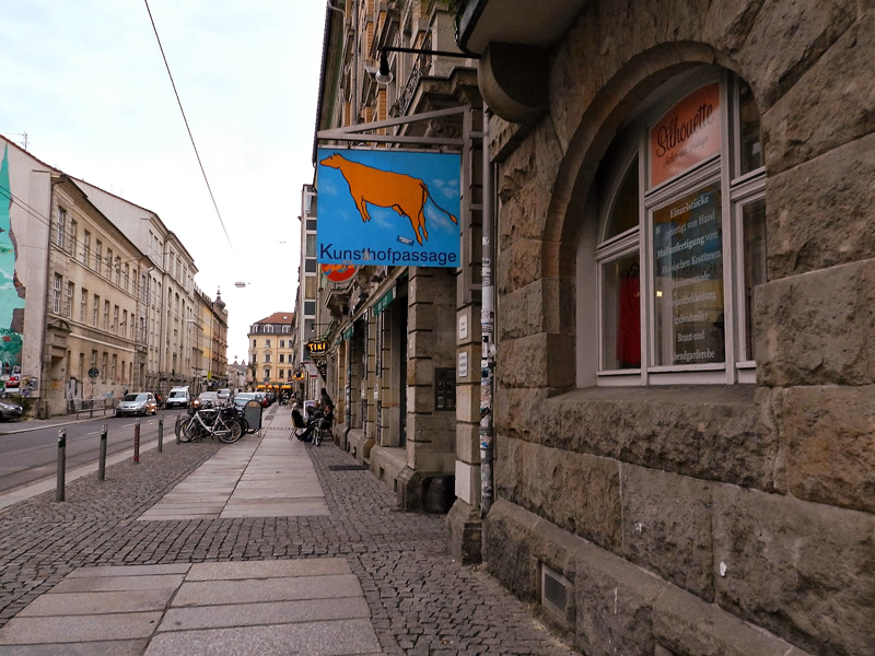Kunsthof-Passage em Dresden na Alemanha