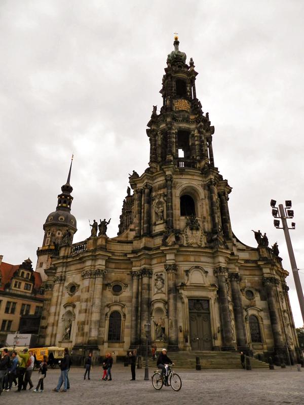 Kathedrale SS Trinitatis em Dresden na Alemanha