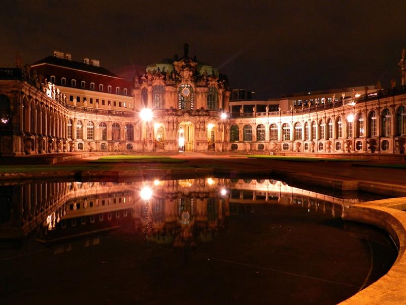 O Zwinger em Dresden na Alemanha