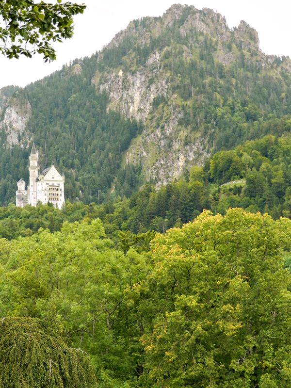 Schloss Neuschwanstein ou castelod e Neuschwanstein em fussen na alemanha