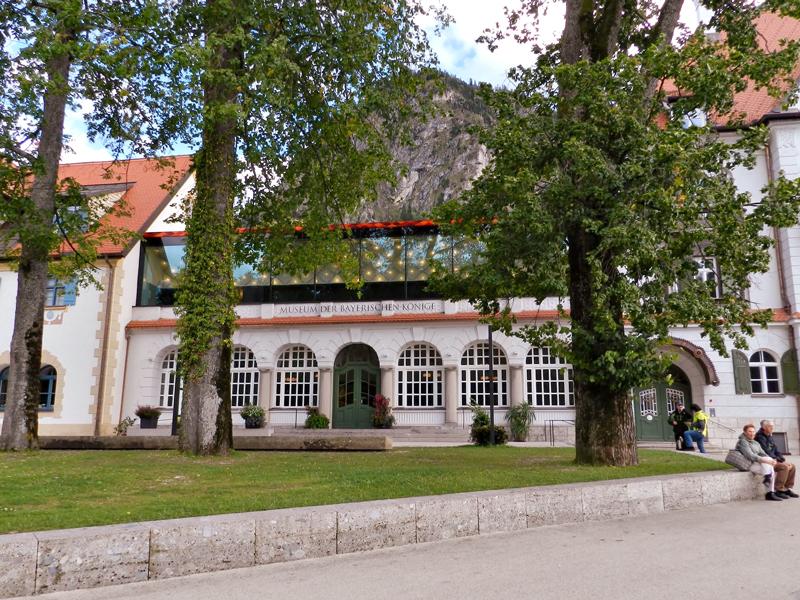 Fachada do Museum Der Bayerischen Könige em Füssen na Aleamanha