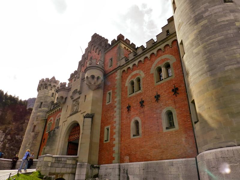 Schloss Neuschwanstein ou castelo de Neuschwanstein em fussen na alemanha