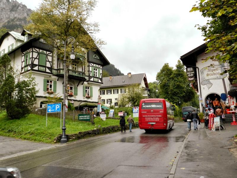 Detalhes da cidade Füssen na Alemanha