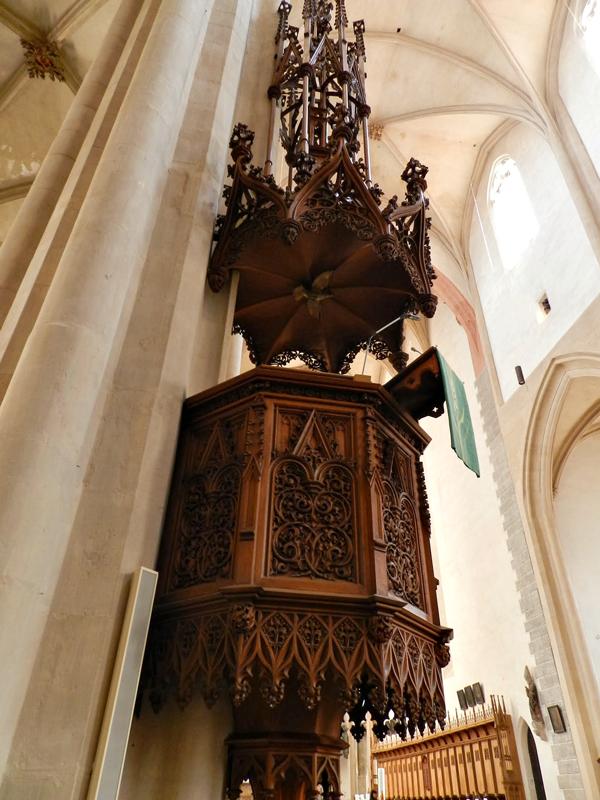 Evangelisch-Lutherische St.-Jakobs Kirche em Rothenburg Ob der Tauber na Alemanha