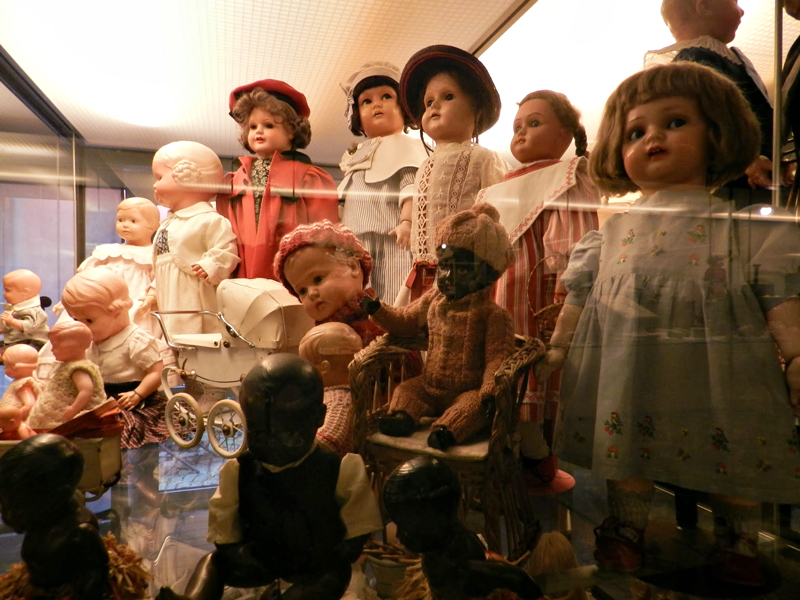 Puppen-und Spielzeugmuseum o museu de boecas de Rothenbrg Ob Der Tauber