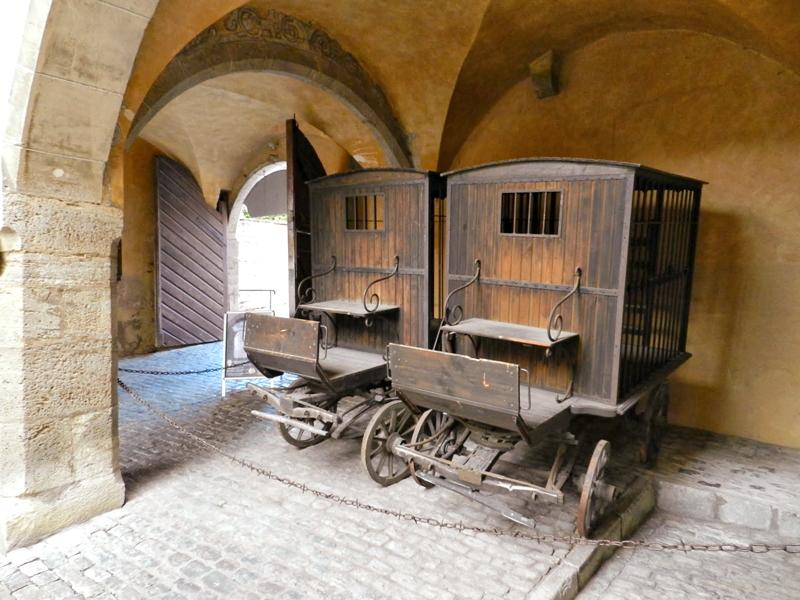 Mittelalterliches Kriminalmuseum o Museu do Crime em Rothenburg Ob Der Tauber na Alemanha