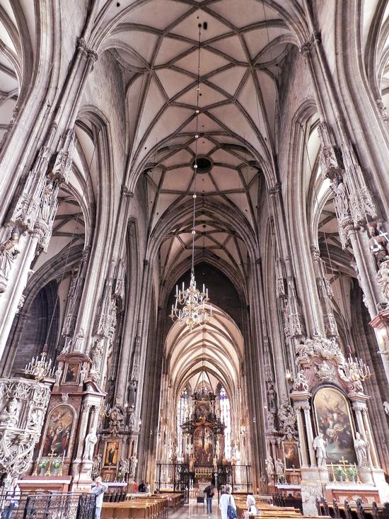 Catedral de Santo Estêvão ou Sankt Stephan ou Stephansdom em Viena