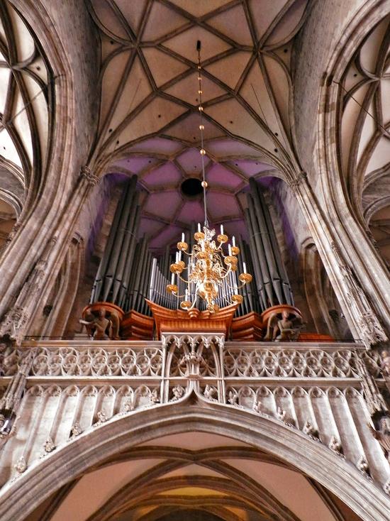 Órgaão da Catedral de Santo Estêvão ou Sankt Stephan ou Stephansdom em Viena