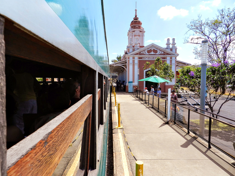 Estação de trem de Mariana em Minas Gerais