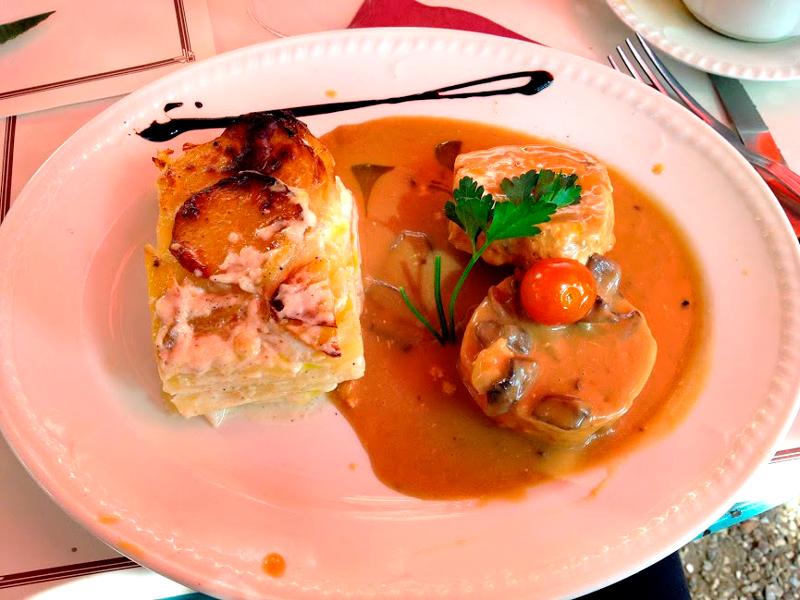 Restaurant Ancien Hotel Baudy, Giverny, France, França
