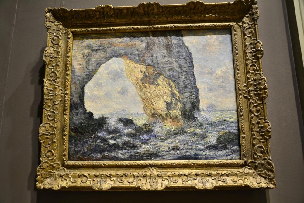 Pintura de Claude Monet que está hoje no Metropolitan Museum of NYC