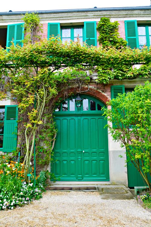 Fondation Monet na alta normandia na França