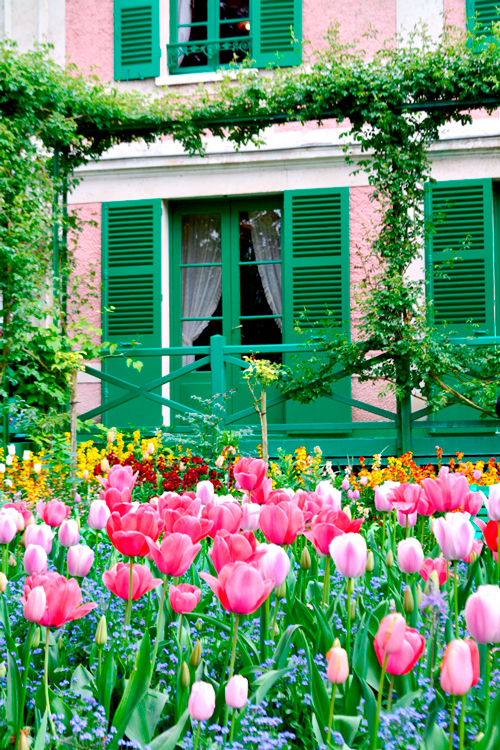 Fondation Monet, Giverny na alta normandia na França