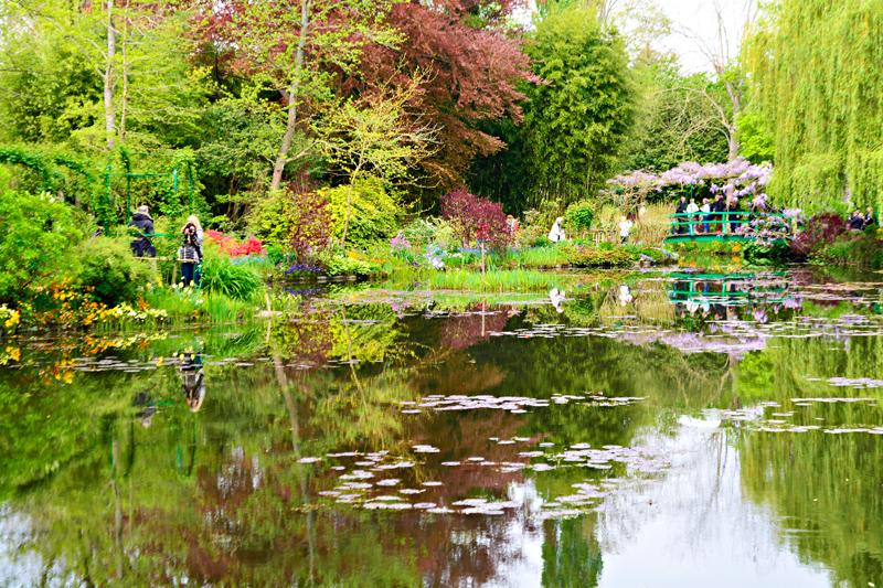 Fondation Monet na Giverny na alta normandia na França