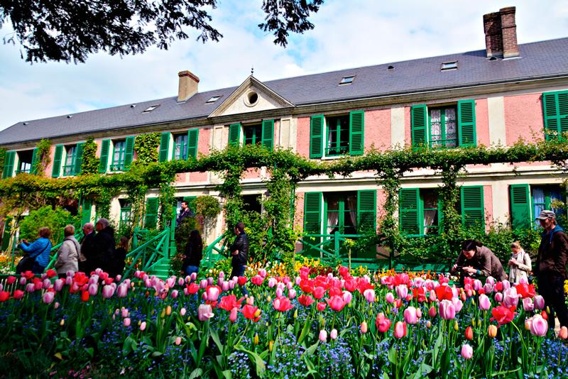 Fondation Monet em Giverny na alta normandia na França