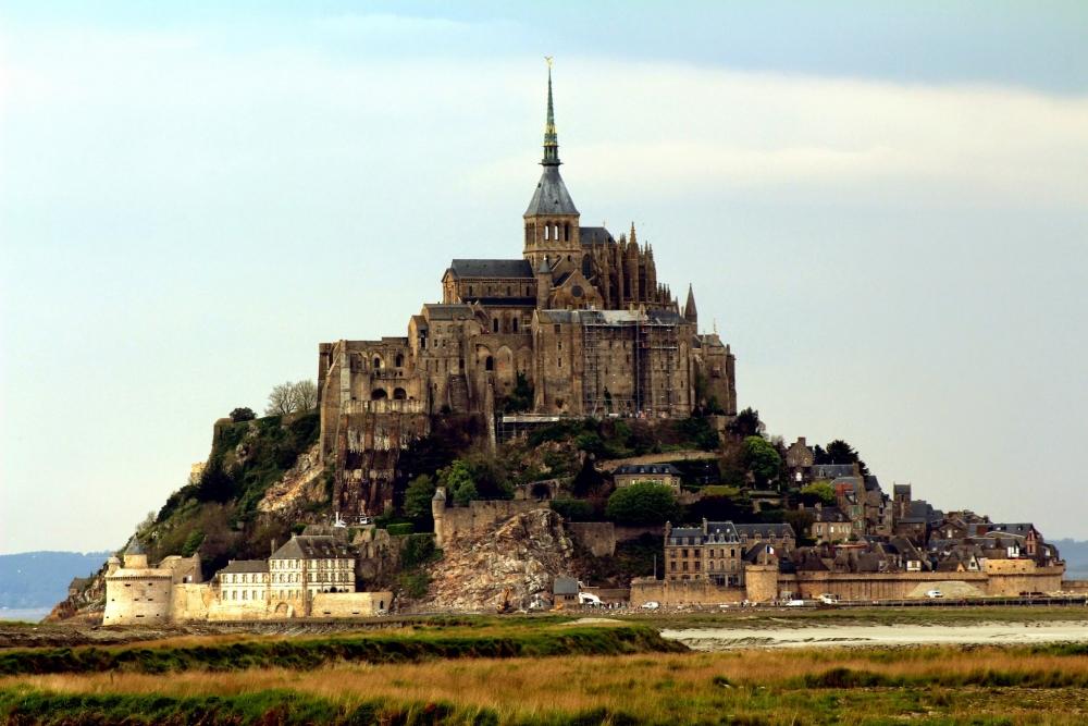 Le Mont Saint Michel, Haute Normandie, ALta Normandia, Normandia, France, França
