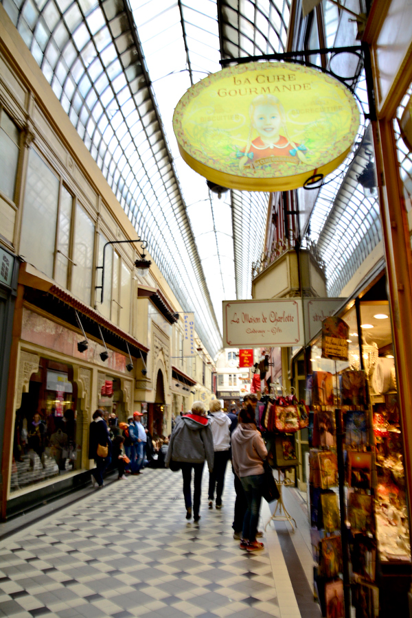 Passage des Panoramas, Paris, France