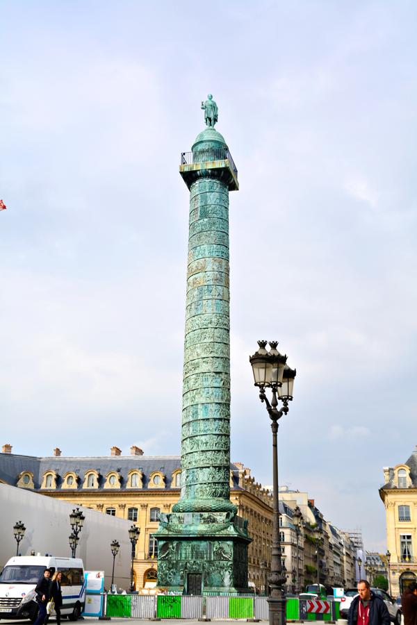 Place Vendôme Dicas de Viagem na região do LOUVRE
