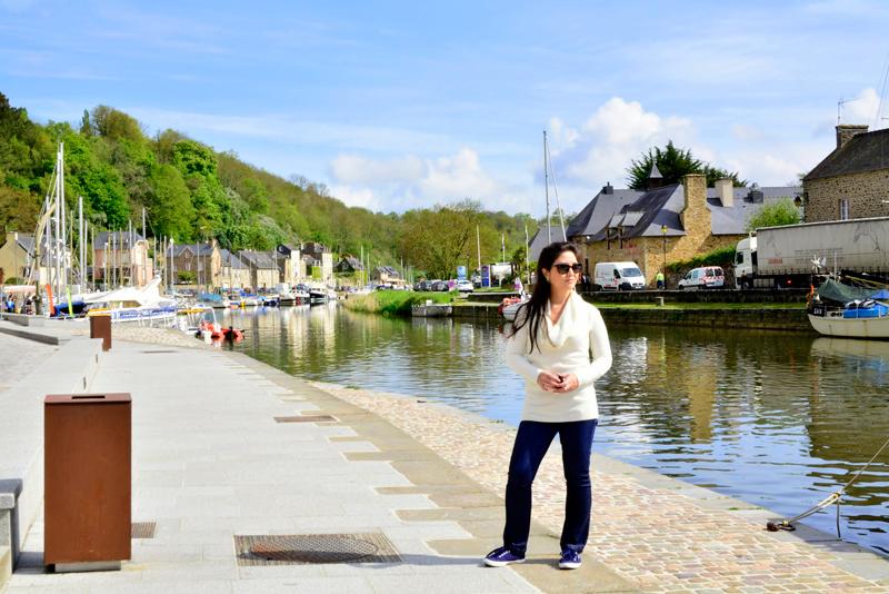 rio La Rance em Dinan na França